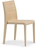 Young 421 - geheel houten stapelbare design stoel