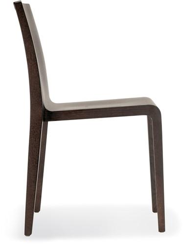 Young 421 - geheel houten stapelbare design stoel-2